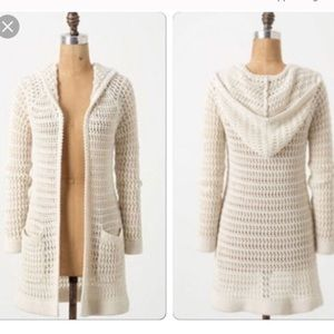 Anthropologie Onshore Breeze duster knit cardigan